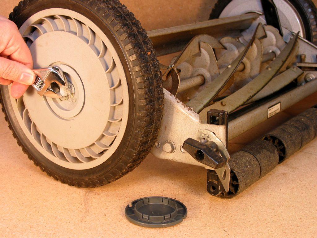 Reel Lawn Mower Repair