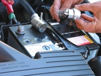 Cleaning your car battery can save getting stranded at the side of the road.