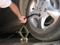 Rotating tires requires removing a tire and moving it to another location as suggested by the manufacturer. A tire shop can do this much quicker than the owner.